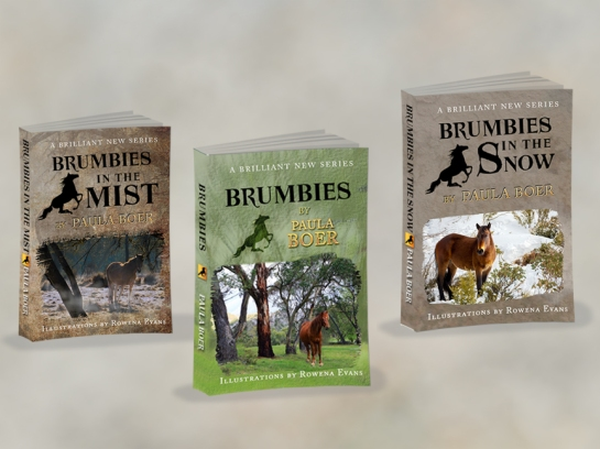 3D Books Brumbies first 3 books