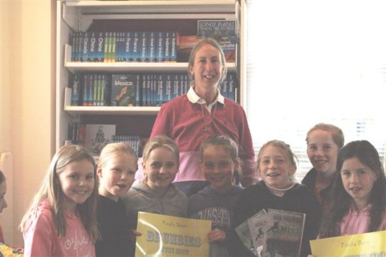 The Winners with author, Paula Boer