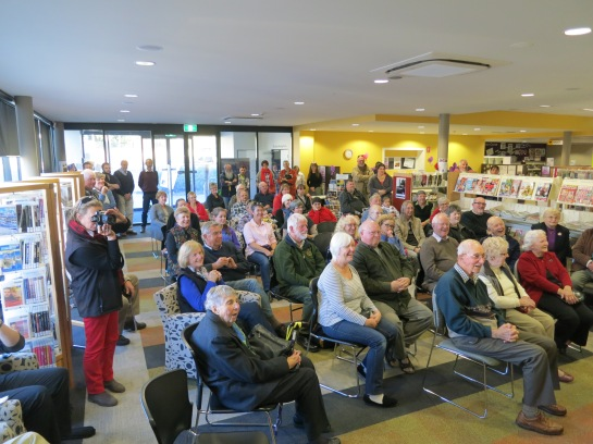 Guests at Sealskin Coast Launch (thanks to Monaro Post)