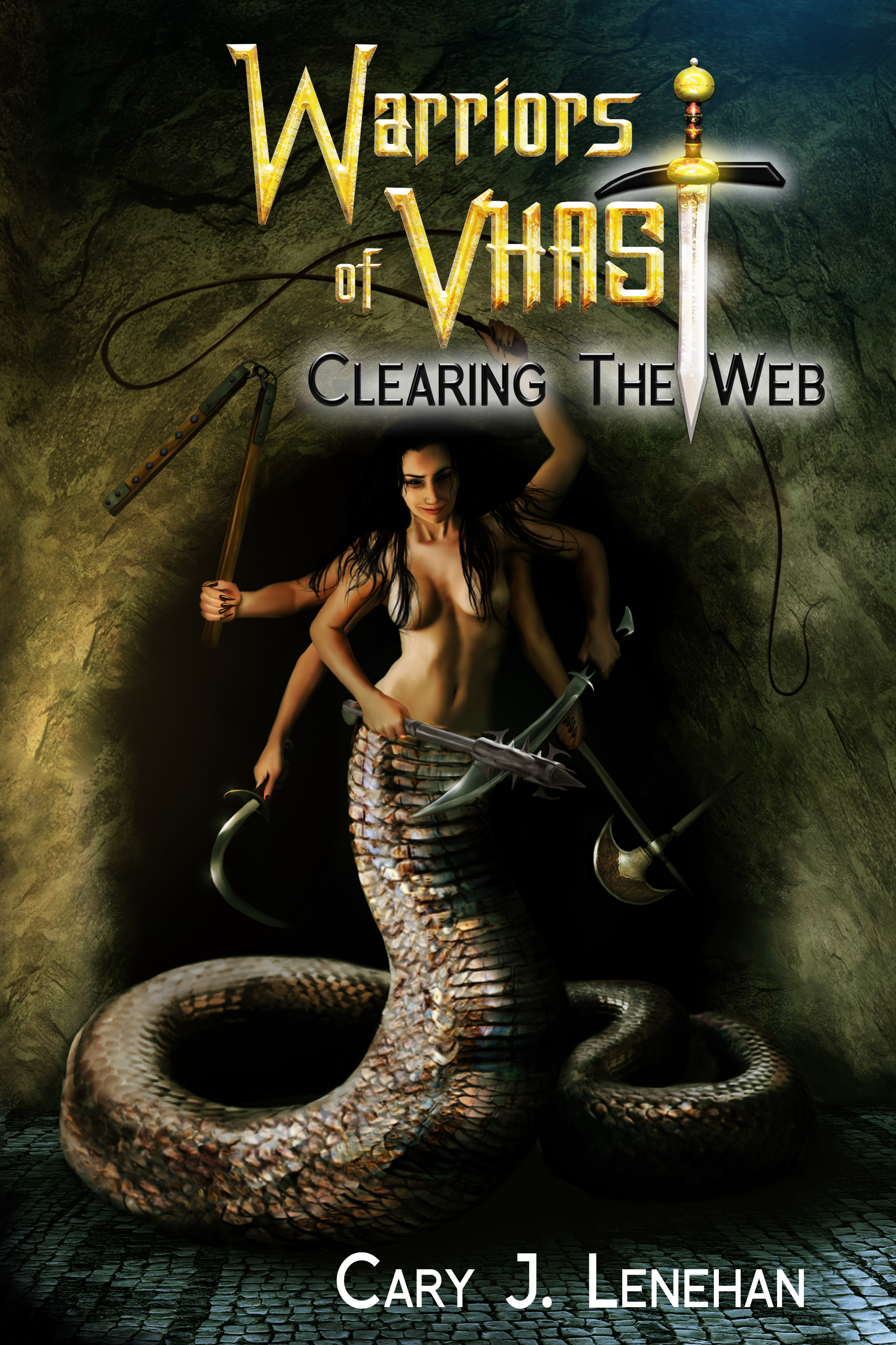 clearing the web front cover